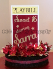 Sarra Sweet 16 Playbill