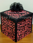Orange Damask envelope box