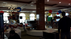 36 in hanging balloon carnival theme b'nai mitzvah