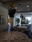 LPA balloon centerpieces